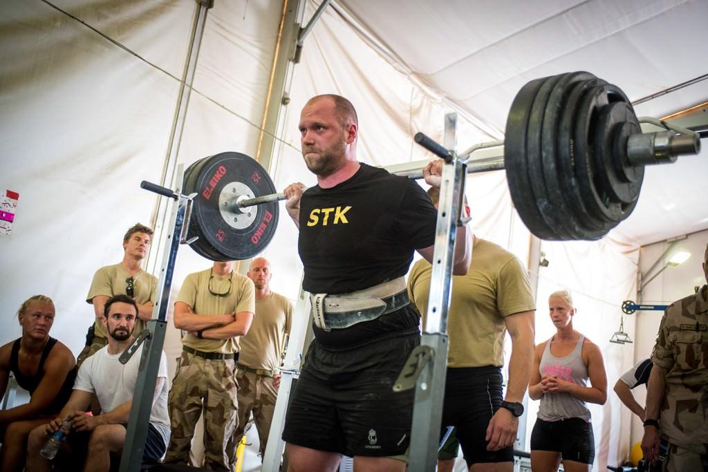 Jimmy Petersson imponerade stort på övriga deltagare. Foto: Anna Lindh/Försvarsmakten