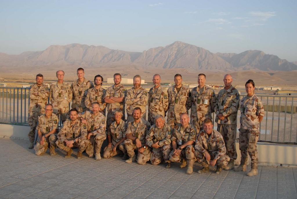 Andra halvlek är nu påbörjad för större delen av FS 29. Foto: Försvarsmakten