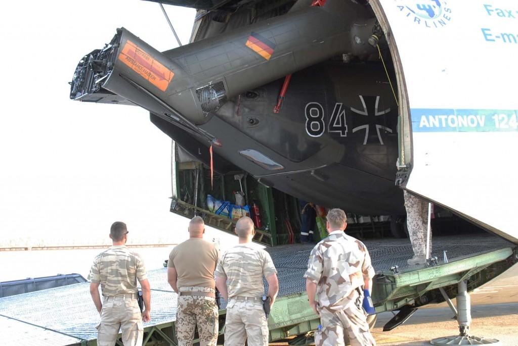 AN 124 rymmer stora laster. Foto: Ida-Maria Martinsson/Försvarsmakten