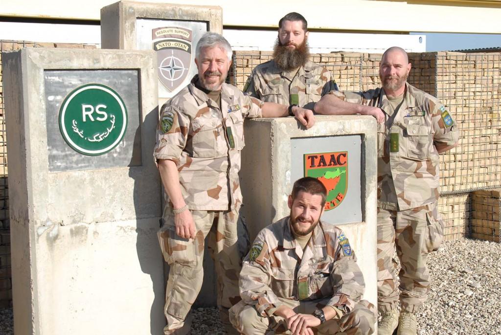 Vår svenska personal i SAROC och TAAC-N högkvarter är nu redo att lämna över arbetet till FS 30. Foto: Ida-Maria Martinsson/Försvarsmakten