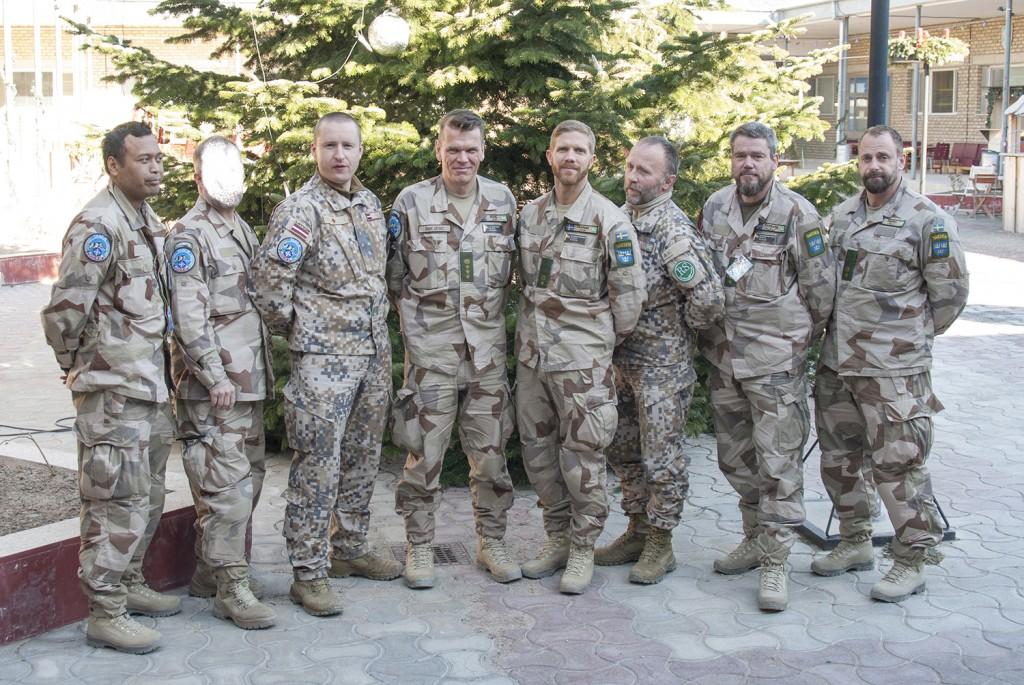 OCC-R rådgivarteam Foto: Försvarsmakten/Carin Bergensten