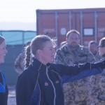 Taktiksnack inför starten? Foto: Försvarsmakten/Carin Bergensten