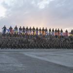 Nationsflaggorna symboliserar vårt deltagande och samverkan. Foto: Försvarsmakten/Carin Bergensten