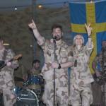 Johannes och Linda. Foto: Försvarsmakten/Carin Bergensten