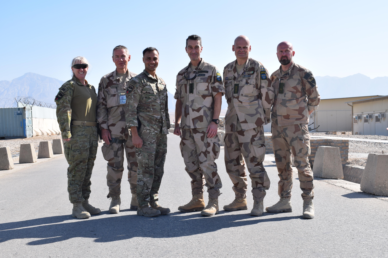 Afghanistaninsats delar danskarna