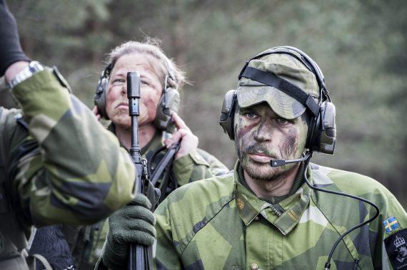 Hemvärnsövning Skåne