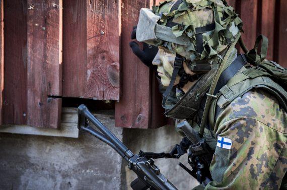 Finsk soldat