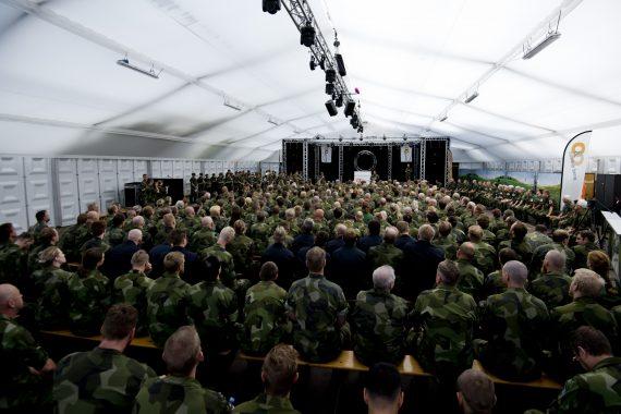 Genomgång inne på camp Heumensoord för dom ca 350 svenska deltagarna.