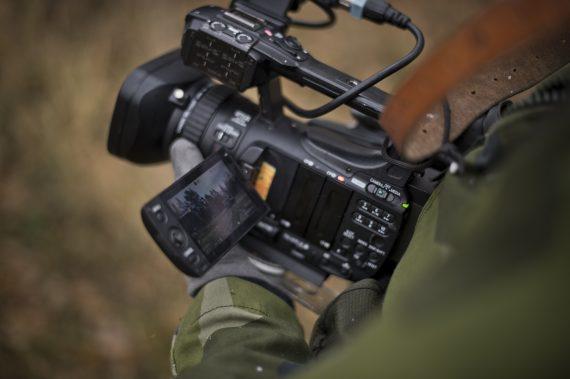 Video är alltid ett bra komplement till stillbilderna. Foto: Jimmy Croona