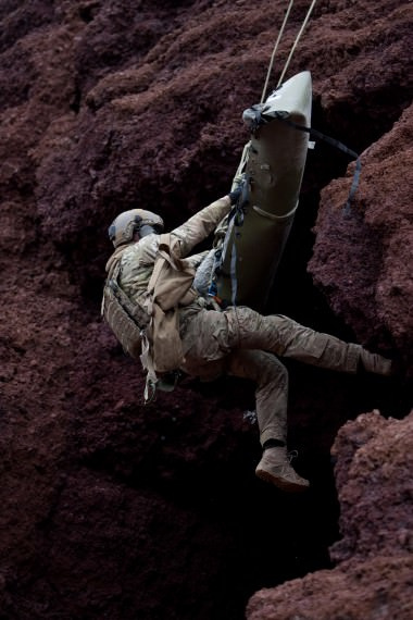 Vertikal räddning med SKED