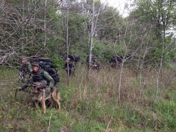 Fbj-patrull i arbete