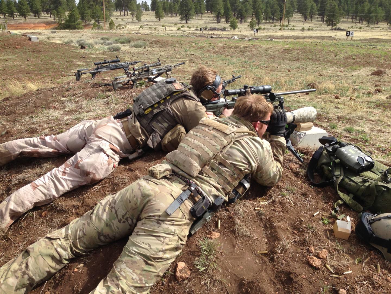 Flygbasjägarna M14 Ebr Rifle