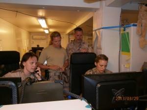 Operations i arbete SAE ISAF UH-60 i Afghanistan