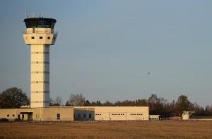 Flygningen avslutas med två instrumentinflygningar från ungefär 20 km avstånd.  Foto: John Lidman/Försvarsmakten