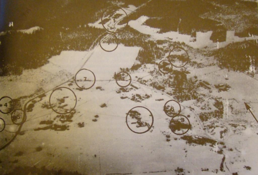 F 19:s första anfallsmål den 12 januari 1940 var den isbelagda sjön Märkäjärvi där ryssarna hade starka ställningar med jaktflyg och luftvärn.