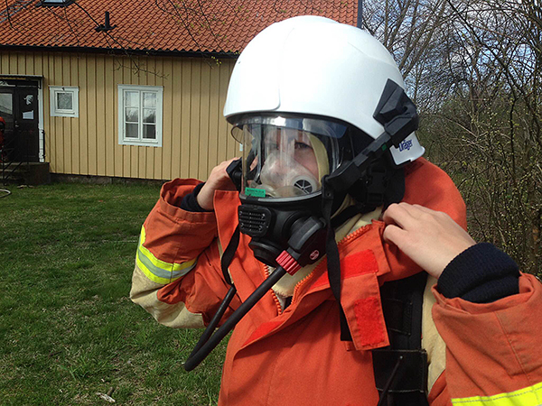 Therese Karlsson är blivande specialistofficer i flygvapnet inom funktionen R 3