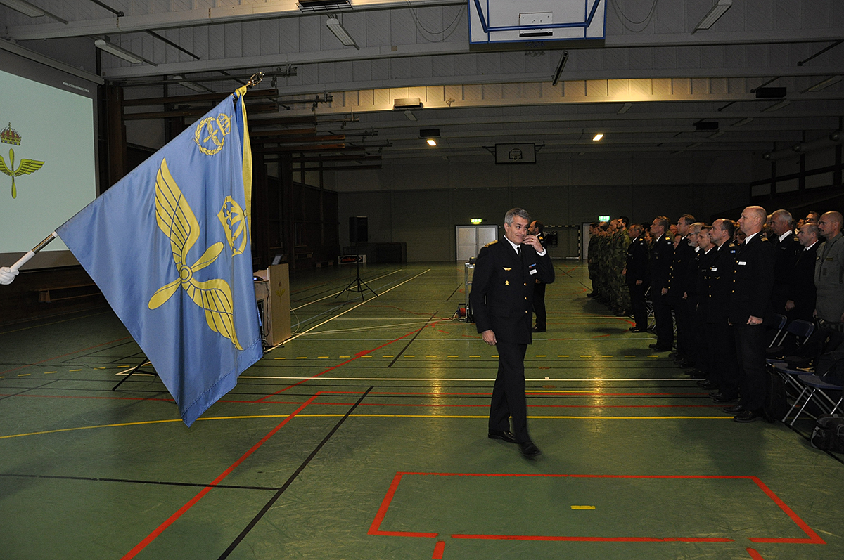 Det första officiella mötet med förbandspersonal är nu avklarat i Uppsala.