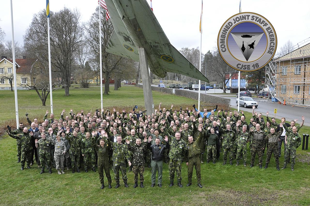 Glada deltagare från CJSE 16 i Uppsala.