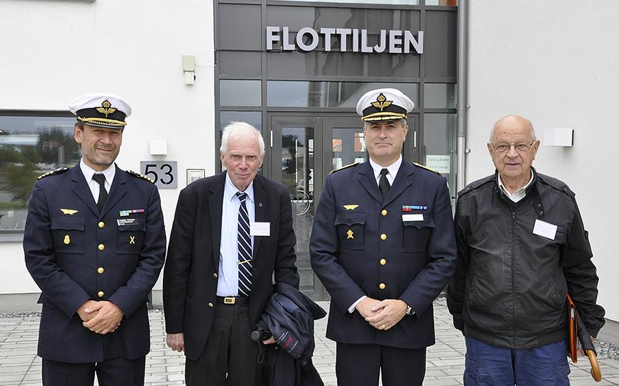 FVC tillsammans med C LSS och ordförande för F8 kamratförening Björn Kristoffersson och vice ordförande Åke Lundberg