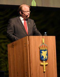 Försvarsminister Peter Hultqvist.