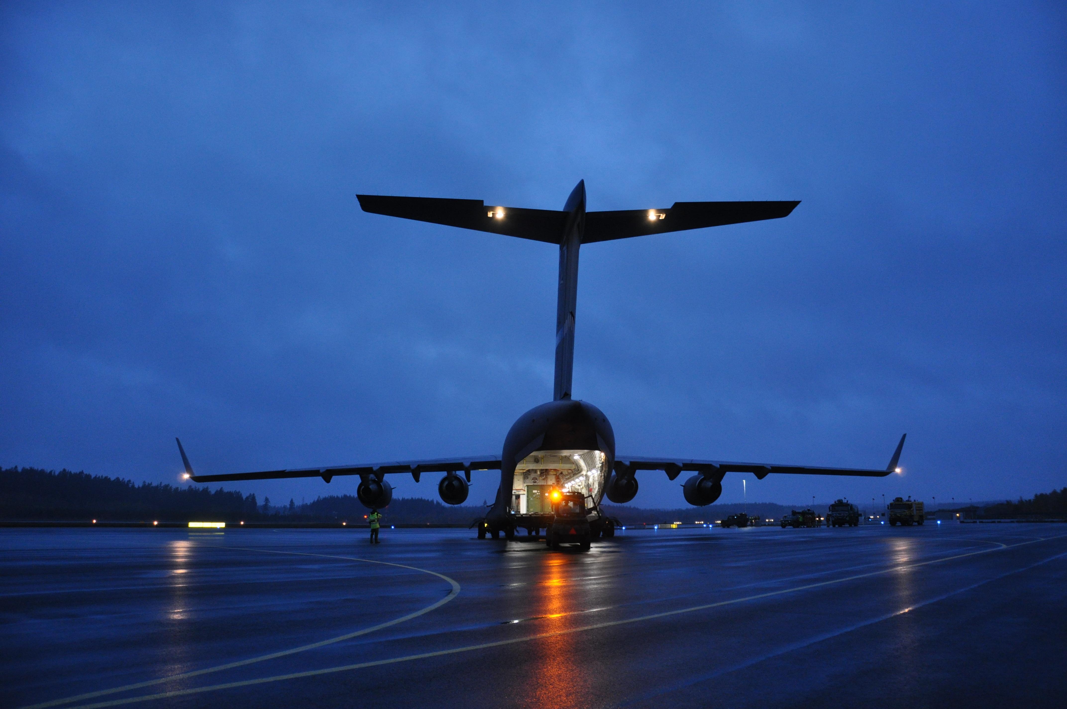 Boeing C-17 Globemaster III. Foto: Peter Norén/Försvarsmakten