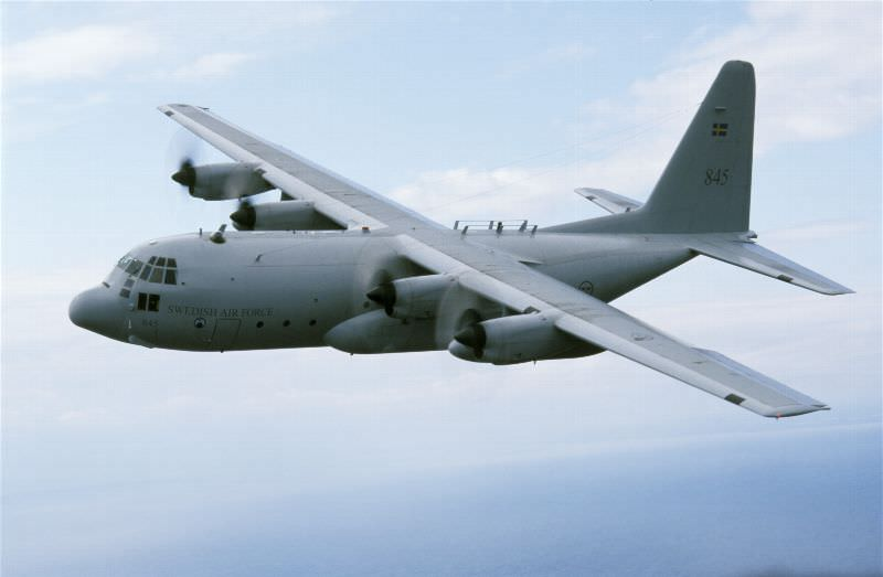 C-130 Foto: Håkan Brandt F7
