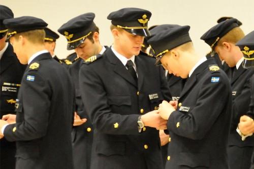 Vingar på. Foto: Jan Basilius-Försvarsmakten