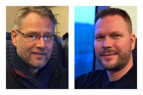 Tohmas Ax och Niclas Ljung