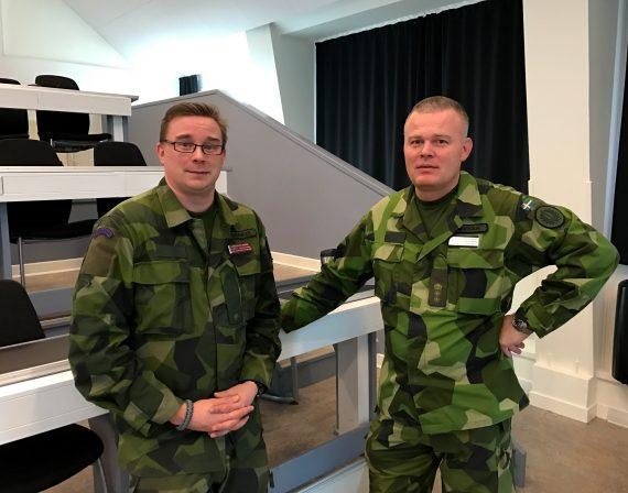 Markus Kilander och Thomas Grevholm
