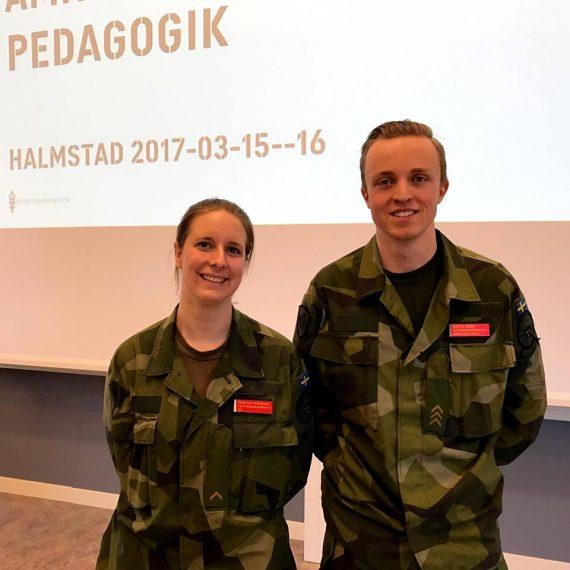 Rebecca Bäckman och Mattis Rubin