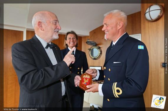 Visit hos vice borgmästare Toulon