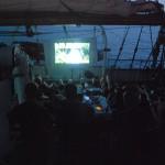 Kvällen föreställning på GladanBio