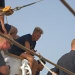 Segling med skeppsbåt