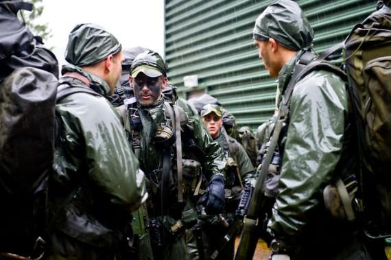Patrulltjänst. Foto: Kim Svensson/Combat Camera