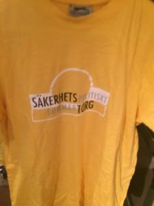 Sommartorgets välkända t-shirt