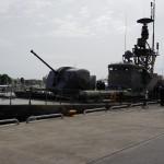 Tidigare robotbåten HMS Ystad, numera M/S Ystad, veteranfartyg.
