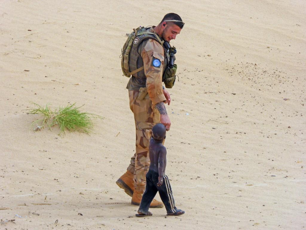 När alla andra alternativ är uttömda är soldaten det enda som skiljer friheten från förtrycket. Foto: Richard Kjaergaard/Mali02