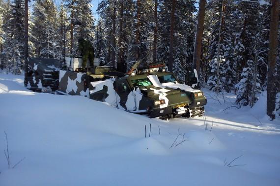 Det har kommit en hel del snö de senaste dygnen.