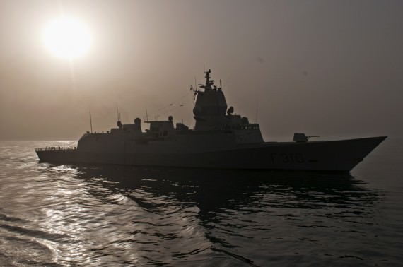 Den norska fregatten HNoNS Fridtjof Nansen. Foto: Anders Kallin/Försvarsmakten