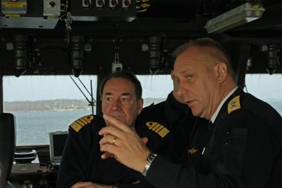 Besök på korvetten Nyköping