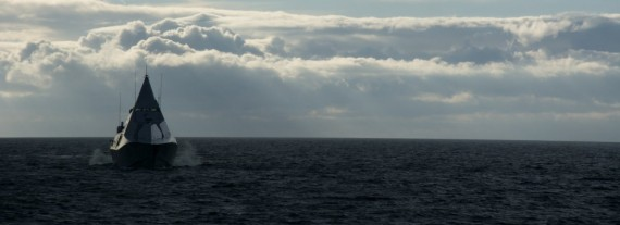 HMS Karlstad är ett av de deltagande fartygen.