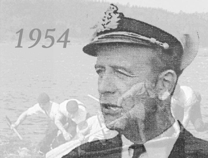 Örlogskapten Rolf Hamilton - Röjdykarnas grundare och en pionjär för grodmansutbildningen i Marinen
