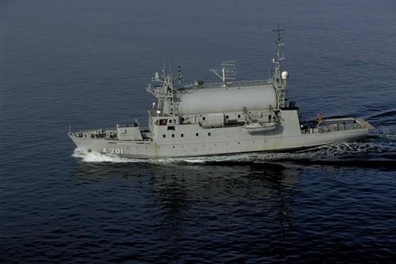 HMS Orion  är en viktig del i Sveriges underrättelseinhämtning.