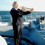 Josefin Höjrup spelar Amazing Grace