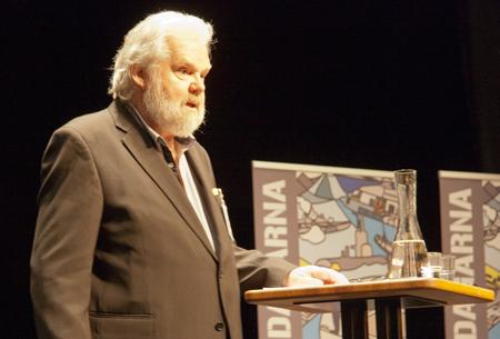 Kjell-Albin Abrahamsson, en av föreläsarna under Marinstridsdagarna 2015