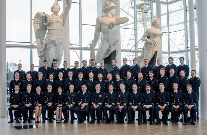 Specialistofficersexamen i Karlskrona, Marinmuseum 2015-12-12