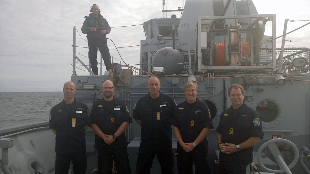 Under fredagen genomförde Försvarsmaktens Insatschef, Jan Thörnqvist och Marinchefen Jens Nykvist besök ombord på HMS Spårö samt HMS Ulvön.