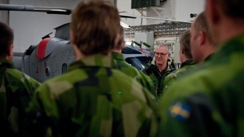 Brigadgeneral Ola Truedsson är marintaktisk chef och leder de marina enheterna från marintaktiska staben. Arkivbild.<br /> Foto: Magnus Lindstedt/Försvarsmakten