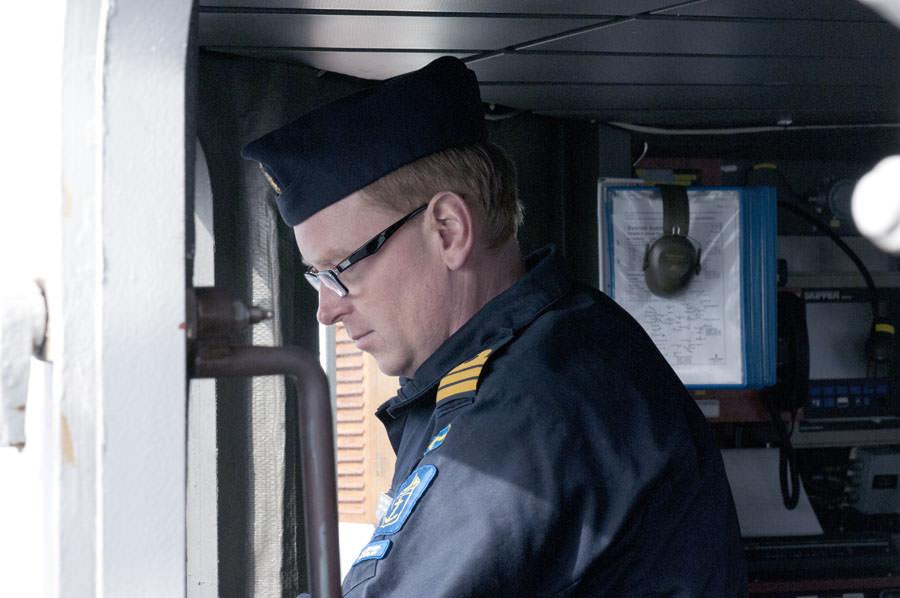 Fartygschef Mathias Janson