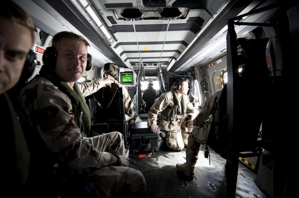 NH90 har helelektronisk styrning och ett skrov i kompositmaterial. Foto: Mattias Nurmela/Försvarsmakten